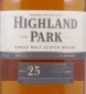 Preview: Highland Park 25 Years Release 2012 Orkney Islands Single Malt Scotch Whisky 45.7%