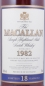 Preview: Macallan 1982 18 Years Sherry Oak Highland Single Malt Scotch Whisky 43,0%