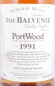 Preview: Balvenie 1991 Port Wood Limited Release Highland Single Malt Scotch Whisky 40,0%