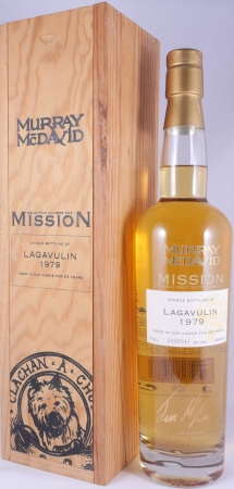 Lagavulin 1979 23 Years First Fill American Oak Islay Single Malt Scotch Whisky Murray McDavid 46,0%