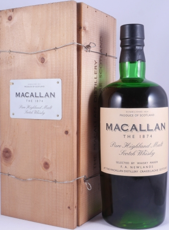 Macallan The 1874 Replica Pure Highland Single Malt Scotch Whisky 1st Edition 45,0%
