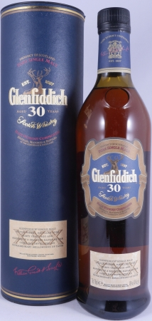 Glenfiddich 30 Years Speyside Pure Single Malt Scotch Whisky 40,0%