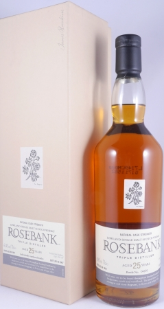 Rosebank 1981 25 Years Special Release Triple Distilled Lowland Single Malt Scotch Whisky Cask Strength 61,4%