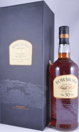 Bowmore 30 Years Kranna Dubh Celtic Legends of the Sea Dragon Limited Edition Islay Single Malt Scotch Whisky 43,0%