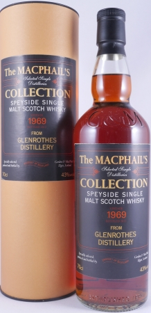 Glenrothes 1969/2012 43 Years Speyside Single Malt Scotch Whisky 43,0% Vol. Gordon und MacPhail The MacPhails Collection