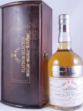 Port Ellen 1979 29 Years Old and Rare Platinum Edition Single Cask Islay Single Malt Scotch Whisky Cask Strength 53,8%