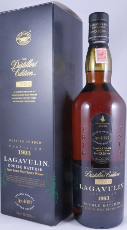 Lagavulin 1993 16 Years Distillers Edition 2009 Special Release lgv.4/497 Islay Single Malt Scotch Whisky 43,0%