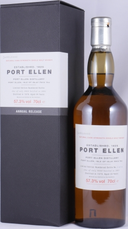 Port Ellen 1979 24 Years 3rd Annual Release Limited Edition Islay Single Malt Scotch Whisky Natural Cask Strength 57,3%