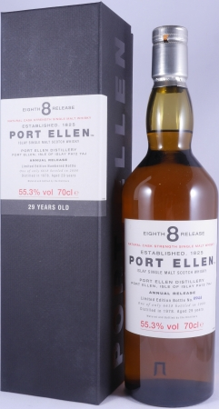 Port Ellen 1978 29 Years 8th Annual Release Limited Edition Islay Single Malt Scotch Whisky Natural Cask Strength 55,3%