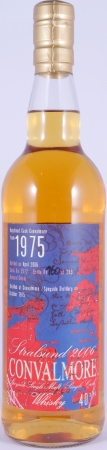 Convalmore 1975 30 Years Hogshead Cask No. 2572 The House of Whisky Stralsund Speyside Single Malt Scotch Whisky 40,0%