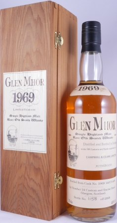 Glen Mhor 1969 25 Years Cask 1407/1409 Campbell and Clark Limited Highland Single Malt Scotch Whisky 45,0%