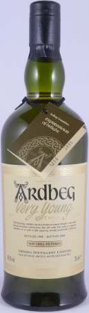 Ardbeg 1998 Very Young Committee Approved Limited Edition Islay Single Malt Scotch Whisky Cask Strength 58.3%