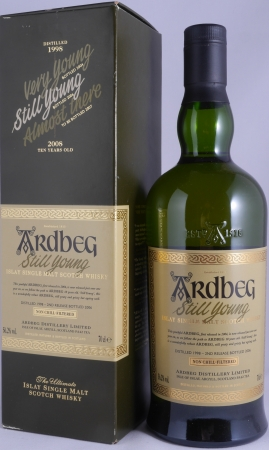 Ardbeg 1998-2006 Still Young 2nd Release Committee Approved Islay Single Malt Scotch Whisky Cask Strength 56,2%