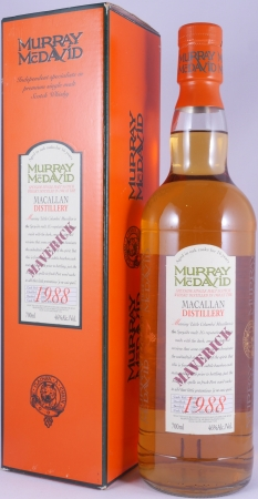 Macallan 1988 16 Years Maverick Bourbon / Port Cask W0411 Murray McDavid Highland Single Malt Scotch Whisky 46,0%