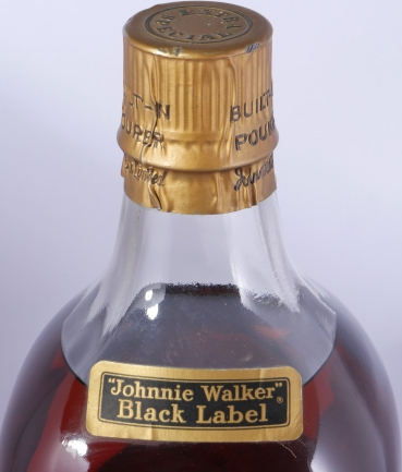 Johnnie Walker Black Label Extra Special Duty Free Edition Blended Old Scotch Whisky 3,75 Liter