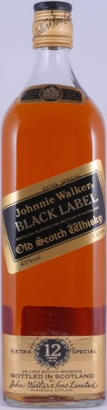 Johnnie Walker Black Label 12 Years Extra Special Duty Free Edition Blended Old Scotch Whisky 43,0% 1,0L