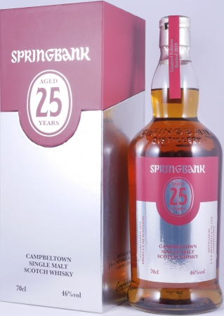 Springbank 25 Years Limited Edition 2019 Campbeltown Single Malt Scotch Whisky 46,0%