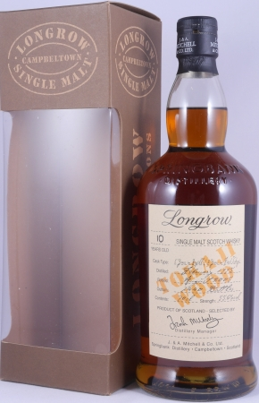 Longrow 1995 10 Years Tokaji Wood Limited Edition Campbeltown Single Malt Scotch Whisky Cask Strength 55,6%