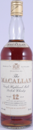Macallan 12 Years Sherry Wood Highland Single Malt Scotch Whisky 43,0% für Pro Nobilitate Ebert, Hainzl und Co.