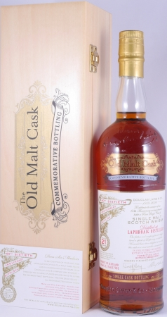 Laphroaig 1988 21 Years Islay Single Malt Scotch Whisky Old Malt Cask 60th Anniversary Commemorative Bottling 52.1%