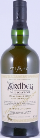 Ardbeg Alligator Exclusive Committee Reserve for Discussion Islay Single Malt Scotch Whisky Cask Strength 51.2%