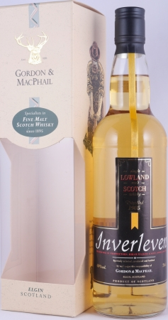 Inverleven 1985 14 Years Lowland Single Malt Scotch Whisky Licensed Bottling Gordon and MacPhail 40.0%
