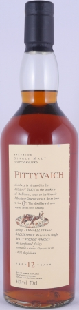 Pittyvaich 12 Years Flora and Fauna Speyside Single Malt Scotch Whisky 43.0%