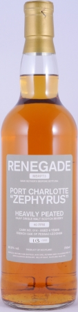 Bruichladdich 2007 6 Years Port Charlotte Zephyrus Renegade MBRPT3 Cask 014 Islay Single Malt Scotch Whisky 63,8%