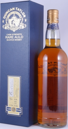 Bowmore 1966 38 Years Oak Cask 3303 Islay Single Malt Scotch Whisky Duncan Taylor Cask Strength Rare Auld Edition 42.8%