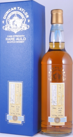 Highland Park 1966 37 Years Cask 4642 Duncan Taylor Cask Strength Rare Auld Edition Single Malt Scotch Whisky 41.3%