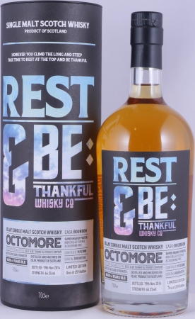 Bruichladdich Octomore 2008 6 Years RBTW Bourbon Cask B000005708 Islay Single Malt Scotch Whisky 66,3%