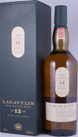 Lagavulin 1990 12 Years 1st Special Release 2002 Limited Edition Islay Single Malt Scotch Whisky Cask Strength 58,0%