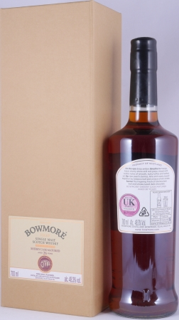 Bowmore 1988 Feis Ile 2015 26 Years Sherry Cask No. 3001 Islay Single Malt Scotch Whisky Cask Strength 48.3%