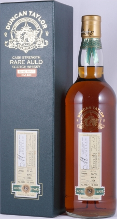 Macallan 1987 19 Years Sherry Cask 9793 Duncan Taylor Cask Strength Rare Auld Edition Single Malt Scotch Whisky 52.4%