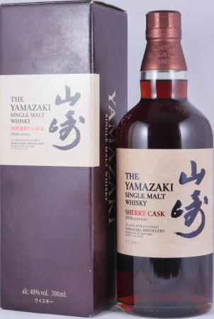 Yamazaki Sherry Cask 2016 Edition Japanese Single Malt Whisky 48.0%