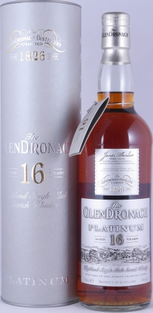 Glendronach Platinum 16 Years Oloroso Sherry Casks Release 2014 Highland Single Malt Scotch Whisky 48.0%