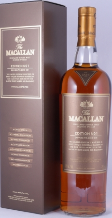 Macallan Edition No. 1 Highland Single Malt Scotch Whisky 48.0%