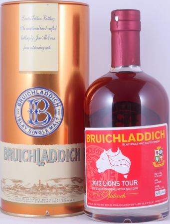 Bruichladdich 1989 23 Years Valinch 2013 Lions Tour Premium French Oak Cask 026 Islay Single Malt Scotch Whisky 49.9%