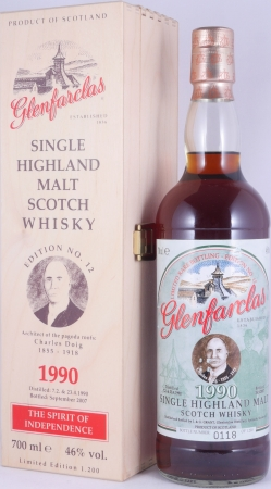 Glenfarclas 1990 17 Years Sherry Cask Edition No. 12 Charles Doig Highland Single Malt Scotch Whisky 46.0%