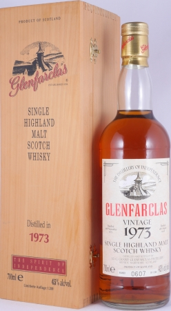 Glenfarclas 1973 24 Years The Spirit of Independence Highland Single Malt Scotch Whisky 43.0%