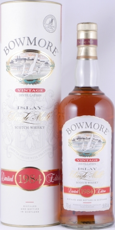 Bowmore 1984 Special Limited Edition Seagull Label Islay Single Malt Scotch Whisky Cask Strength 58,8%