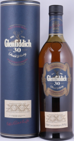 Glenfiddich 30 Years Release 2001 Speyside Pure Single Malt Scotch Whisky 40,0%