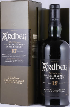 Ardbeg 17 Years Limited Edition Release 1997 Islay Single Malt Scotch Whisky 40,0%