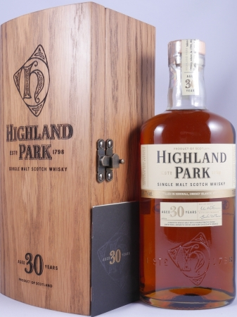 Highland Park 30 Years Release 2013 Single Malt Scotch Whisky 45,7%