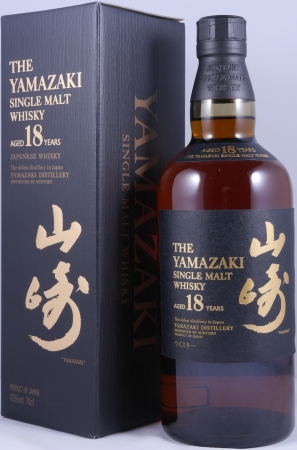 Yamazaki 18 Years Japan Single Malt Whisky 43,0%