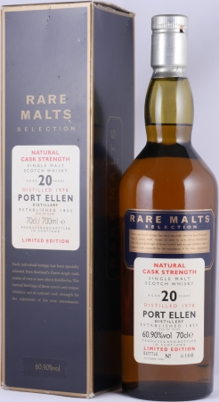 Port Ellen 1978 20 Years Islay Single Malt Scotch Whisky Diageo Rare Malts Selection 60.9%