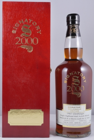 Glenburgie 1967 31 Years Single Highland Malt Scotch Whisky Sherry Oak Cask 11158 Signatory Millenium Edition 56.9%
