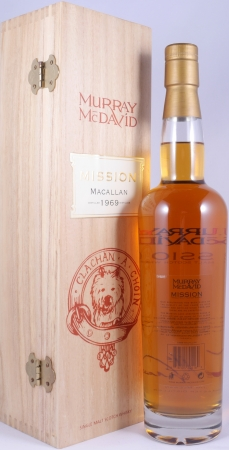 Macallan 1969 36 Years Single Malt Scotch Whisky Mission Serie Murray McDavid 41,0%
