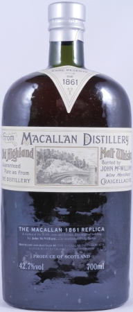 Macallan 1861 Replica Rare Reserve Highland Single Malt Scotch Whisky 42,7%