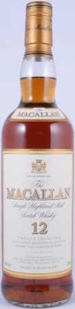 Macallan 12 Years Sherry Oak Highland Single Malt Scotch Whisky 40.0%